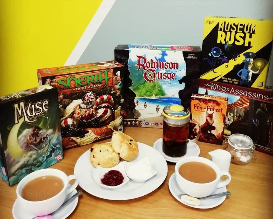 The Dice Box Board Game Cafe