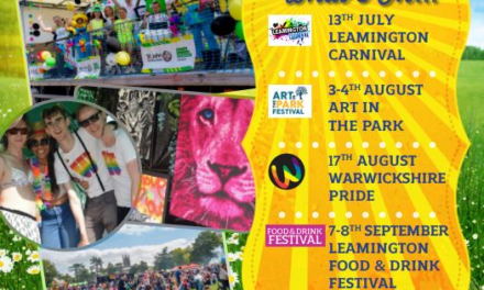 """The """"Summer Of Fun"""" carries on in Royal Leamington Spa…"""
